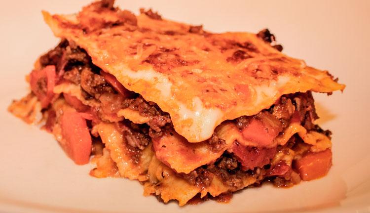 Favoriete lasagna