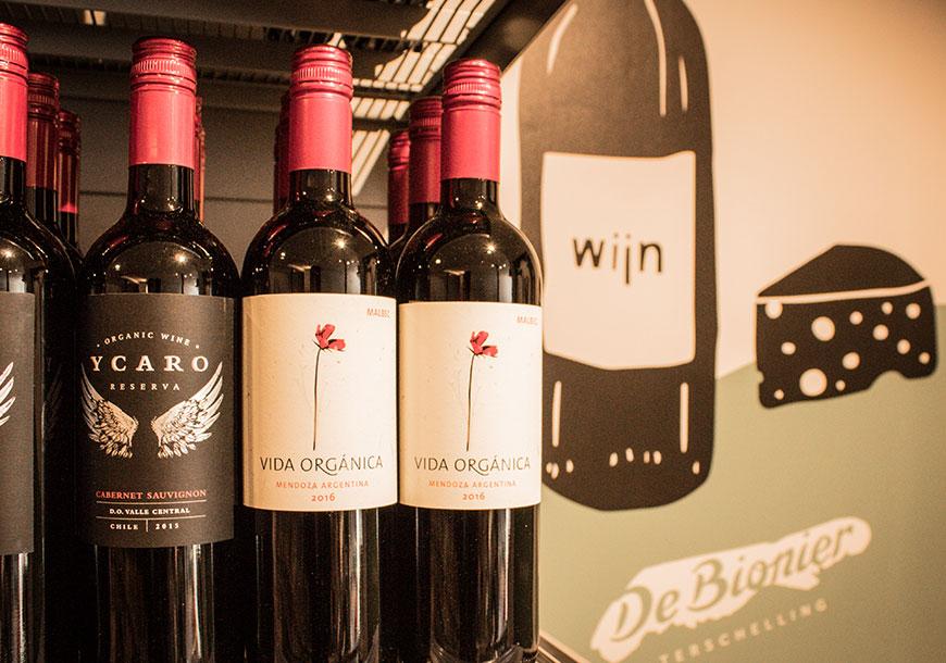 Wijnen van De Bionier